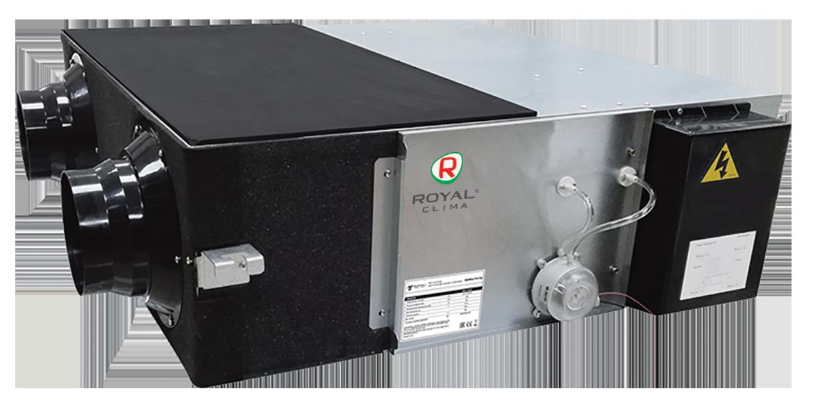 Компактные приточно-вытяжные установки серии SOFFIO PRIMO