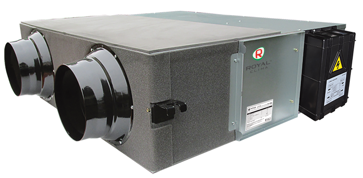 Компактные приточно-вытяжные установки серии SOFFIO UNO